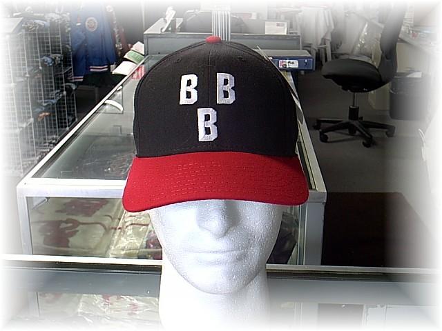 13e1a1e1003 1948 BIRMINGHAM BLACK BARONS CAP