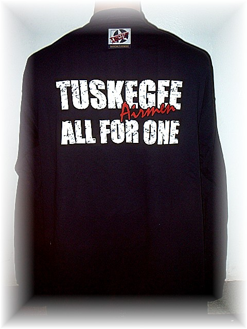 TUSKEGEE AIRMEN ALL FOR ONE LONG SLEEVE