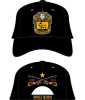 BUFFALO SOLDIERS ADJUSTABLE LEATHER CAP